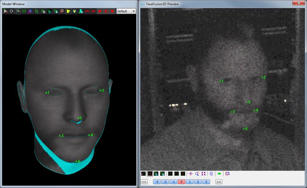 CVI Example FaceFusion3D Filter