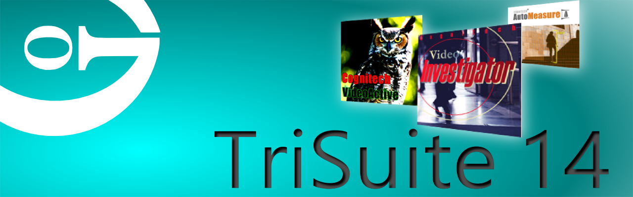TriSuite Forensic Software Suite containing Video Investigator VideoActive AutoMeasure Banner