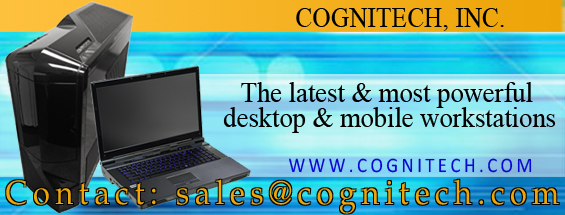 Cognitech Integrated Desktops and Laptop Workstations