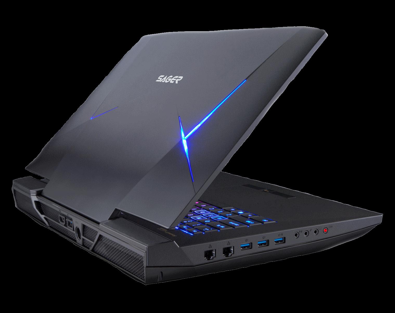 Cognitech Software on Sager Gaming Laptops
