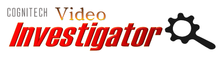 Cognitech Video Investigator Logo for forensic video and image enhancement